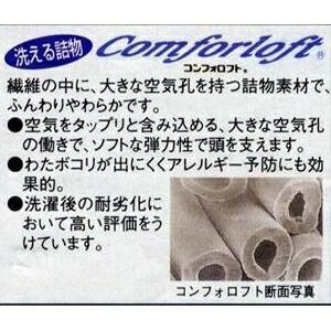 高密度防ダニ生地使用 洗える掛け布団 ダブルピンク 日本製