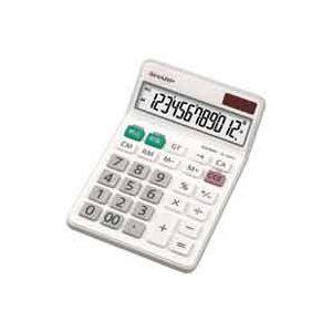 (業務用3セット)シャープ SHARP 電卓 12桁 EL-N432X