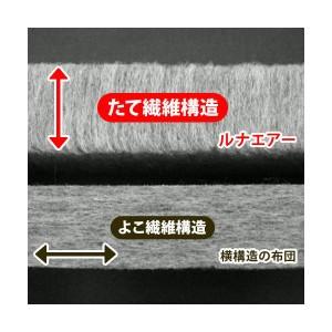 超軽量極薄敷布団 ルナエアーマスターピース(セパレートタイプ) レッド×ブラック 日本製
