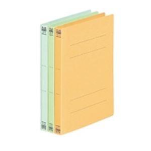 (業務用5セット) プラス フラットファイル/紙バインダー 〔A5/2穴 10冊入り〕 041N ブルー(青) ×5セット