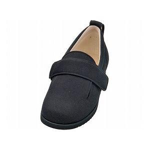介護靴 施設・院内用 ダブルマジック2 11E(ワイドサイズ) 7029 両足 徳武産業 あゆみシリーズ /3L (25.0〜25.5cm) ブラック