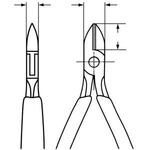 KNIPEX(クニペックス)7752-115 エレクトロニクスニッパー