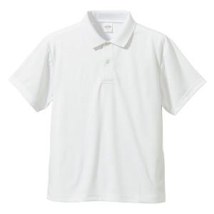 さらさらドライポロシャツ 3枚セット 〔 Sサイズ 〕 半袖 UVカット/吸汗速乾 4.1オンス ホワイト/ブラック/コバルトブルー