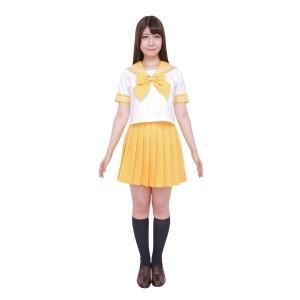 〔コスプレ〕カラーセーラー 黄M