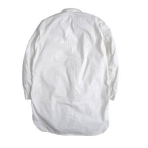 スウェーデン軍プルオーバースリーピングシャツホワイトレプリカ《36(レディースフリー相当》