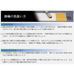 掛け軸 〔長さ約1884mm〕 北条裕華 掛軸(尺五) 「龍虎図」 桐箱入り 日本製