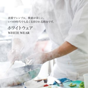 workfriend 女子ライン入り調理用白衣半袖 SKA349 4Lサイズ