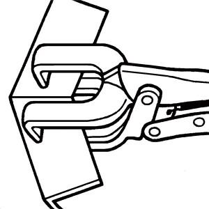 KNIPEX(クニペックス)4214-280 溶接用グリッププライヤー