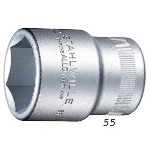 STAHLWILLE(スタビレー) 55-50 (3/4SQ)ソケット (6角) (05010050)