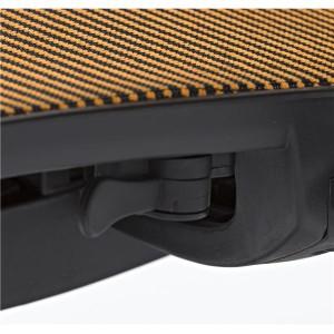 〔ブリーズ〕メッシュ素材 座面昇降シンプルオフィスチェア ワークチェア パソコンチェア ブルー