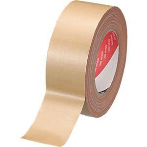 (まとめ) 寺岡製作所 オリーブテープ No.141 50mm×25m クリーム 1巻 〔×10セット〕