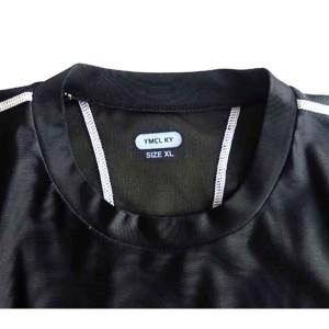 スリムフィットコンプレッションアメリカ軍タクティカルトレーニング吸汗速乾シャツ半袖レプリカ ブラック L
