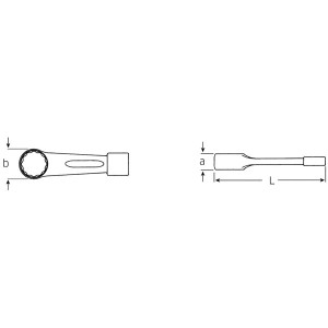 STAHLWILLE(スタビレー) 8-75 打撃メガネレンチ (42010075)