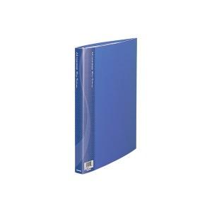 (業務用セット) クリアバインダー A4 15P CBM1032B-N ブルー〔×5セット〕