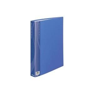 (業務用セット) クリアバインダー A4 25P CBM1035B-N ブルー〔×5セット〕