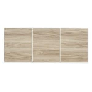 上置き(ダイニングボード/レンジボード用戸棚) 幅100cm 日本製 ブラウン 〔完成品〕〔開梱設置〕