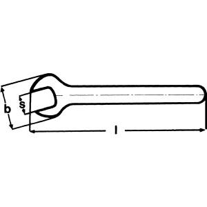 KNIPEX(クニペックス)9800-3/4 絶縁片口スパナ 1000V