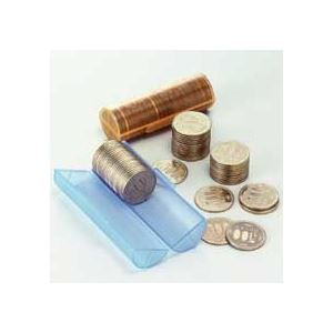 (まとめ) エンゲルス コインストッカー 50円硬貨用 S-50 1個 〔×60セット〕
