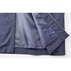 テカリを抑えた綿混・撥水加工、防風加工、裏地付スウィンブトップジャケット ベージュ S