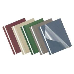 (まとめ買い)コクヨ レポートメーカー 製本ファイル A4縦 赤 5冊入 セホ-50R 〔×5〕