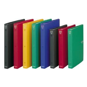 (まとめ)コクヨ クリヤーブック B5縦 替紙式23枚ポケット26穴 赤 ラ-461R 〔まとめ買い×3セット〕