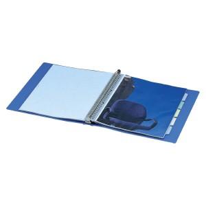 (まとめ買い)コクヨ クリヤーブック A4縦 替紙式12枚ポケット30穴 青 ラ-720B 〔3冊セット〕