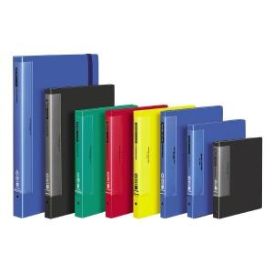 コクヨ クリヤーブック ウェーブカットポケット A4縦 替紙式12枚ポケット30穴 青 ラ-T710B