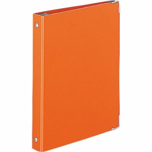 コクヨ バインダーノート カラーパレット A5 20穴 最大100枚 オレンジ ル-105-6