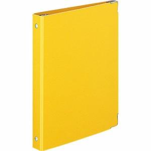 コクヨ バインダーノート カラーパレット A5 20穴 最大100枚 黄 ル-105-4