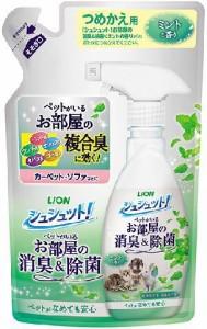 ライオン シュシュット! お部屋の消臭&除菌 ミントの香り詰め替え 320ml