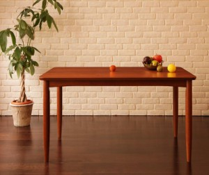 リビングダイニング 〔BULT〕 ダイニングテーブル単品 W120 ブラウン