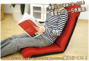 日本製 ハイバック座椅子 多段階リクライニング メッシュ素材orマイクロボア (ポップ/ビビッドカラー/ナチュラル/14段階/座いす 敬老)