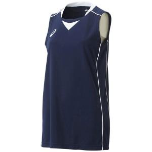 2個までメール便送料無料 アシックス バスケットボール W'Sゲームシャツ レディース XB2355-5001