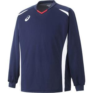 2個までメール便送料無料 アシックス サッカー ゲームシャツLS メンズ XS1141-50