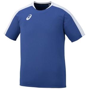 【メール便対応】 アシックス サッカー ゲームシャツHS メンズ XS1146-45 【3点目から宅配便(送料加算)で発送】
