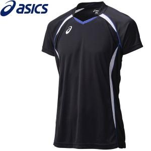 2個までメール便送料無料 アシックス バレーボール ゲームシャツHS メンズ XW1316-9001