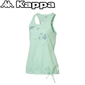 2個までメール便送料無料 カッパ ノースリーブシャツ レディース KM522TN61-PG