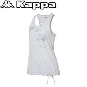 2個までメール便送料無料 カッパ ノースリーブシャツ レディース KM522TN61-SW