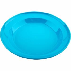 キャプテンスタッグ ホリデージョイ 抗菌 丸型カレー皿 22cm (ブルー) UT0036