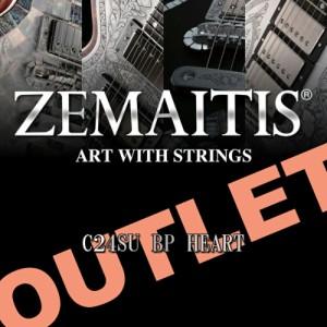 Zemaitis C24SU BLACK PEARL HEART OUTLET品 ゼマイティス C24SU BP HEART 【アウトレット品】