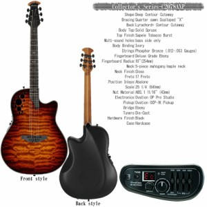 Ovation Collector's Series - C2078AXP STB オベーション コレクターズシリーズ エレアコギター