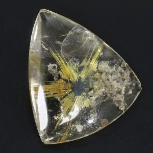 太陽ルチル ルチルクォーツ 磨き原石 6.2g タンブル 天然石 パワーストーン