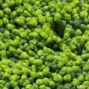 SHIBAFU トイレマット 60×60cm グリーン [01]