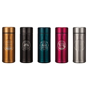 カフア コーヒーボトル COLOMBIA ブラウン QAHWA [01]
