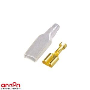 エーモン/amon 1136 端子/分岐パーツ 平型端子(メスセット) 配線コードの確実な接続に 20セット