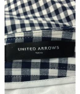 美品 ユナイテッドアローズ SIZE 38 (M) ギンガムチェック柄パンツ UNITED ARROWS レディース 【中古】