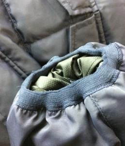 ルイヴィトン SIZE 50 (XL以上) レザーヨーク ダウンジャケット Louis Vuitton メンズ【中古】