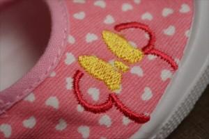 キッズ 子供靴 上靴 上履き ピンク ミニー ディズニー DISNEY  6670 Y_KO【Y_KO】■05170927