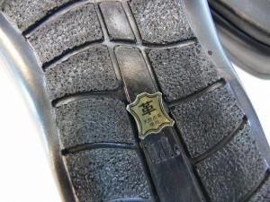 サンダル メンズ 日本製 本革 オフィス ビジネスサンダル 牛革 オープントゥ メンズサンダル スリッパ レザーサンダル (ブラック)