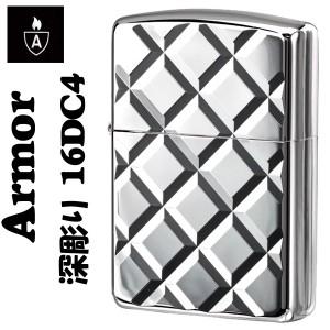 【ZIPPO】アーマージッポ16DC4★両面深彫り★Heavy Wall Armour